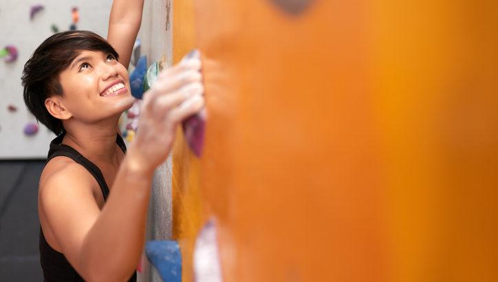 「ボルダリング女子」が可愛すぎる! 女子こそやるべき「ボルダリング」の女子に嬉しい効果とは?