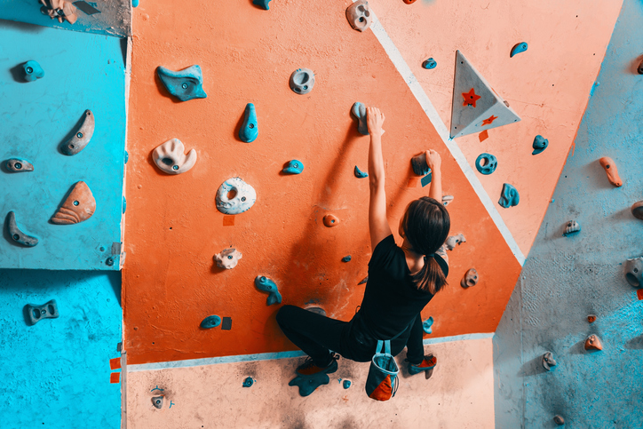 【連載】ボルダリング女子の悩み第35回・「登っているときにガニ股になる課題があって恥ずかしい……」