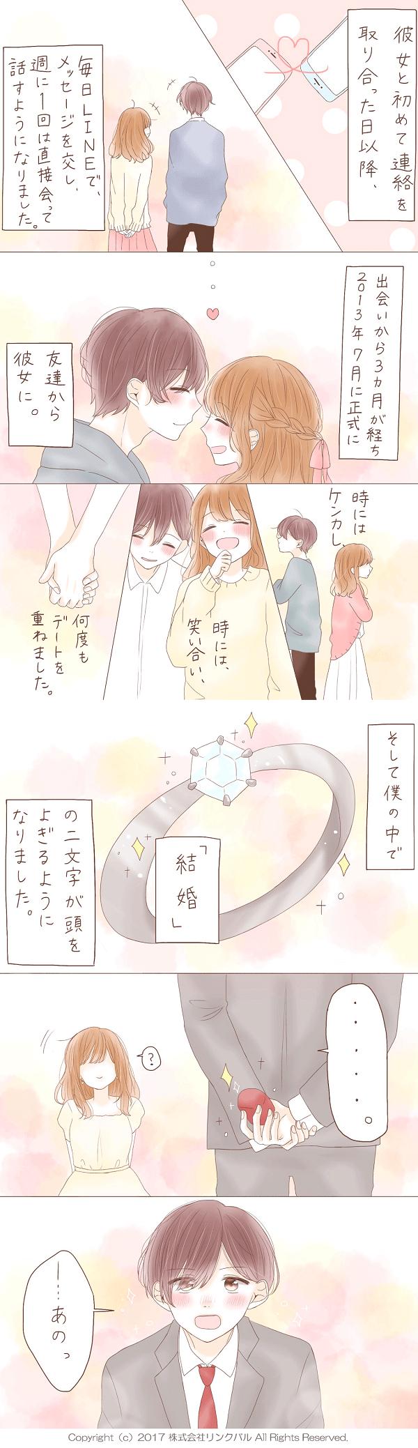 【婚活成功マンガ】キセキノデアイ・第5話「決意」