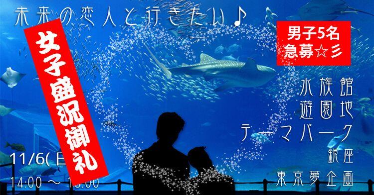 【銀座のプチ街コン】東京夢企画主催 2016年11月6日