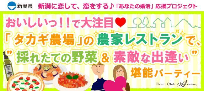 【新潟の恋活パーティー】株式会社アクセス・ネットワーク主催 2016年10月16日