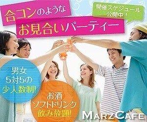 【新宿の婚活パーティー・お見合いパーティー】マーズカフェ主催 2017年1月22日