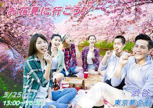 【渋谷の婚活パーティー・お見合いパーティー】東京夢企画主催 2017年3月25日