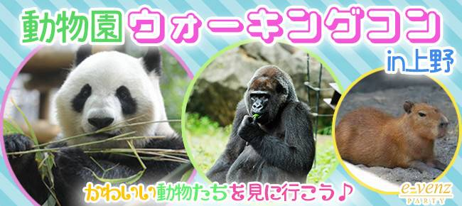 5月26日(金) 平日休み同時で!★20代限定企画★大人の遠足!パンダに癒されよう!上野公園&動物園ウォーキングコン!(趣味活)