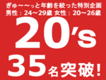 【長野のプチ街コン】みんなの街コン主催 2017年7月22日
