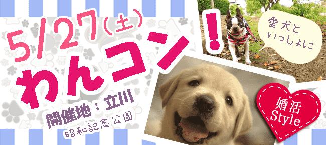 5月27日(土)犬好き集合!ワンちゃんお散歩コン!(趣味活)