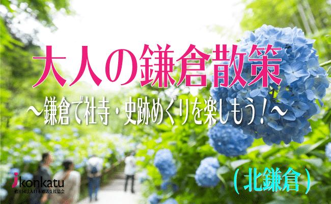 【鎌倉のプチ街コン】一般社団法人日本婚活支援協会主催 2017年6月17日