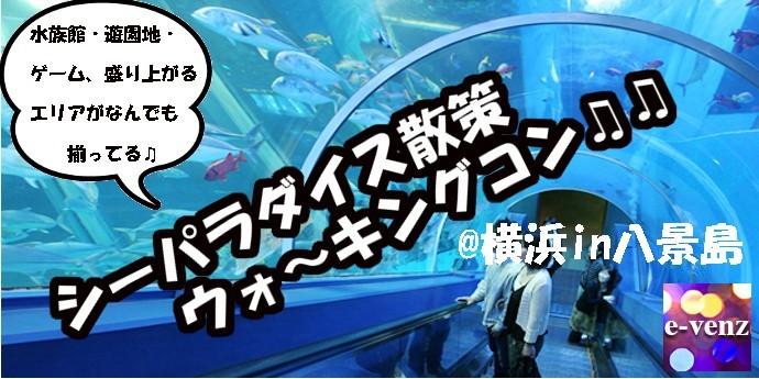 12月30日 シーパラダイス散策 ナイトウォーキングコン! @横浜in八景島 【神奈川県】
