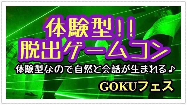 【新宿のプチ街コン】GOKUフェスジャパン主催 2017年11月26日
