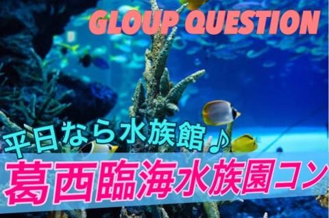 【東京】11/28(火)葛西水族館コン!!グループ散策でクエスチョン☆会話のきっかけになるミニゲームあり☆