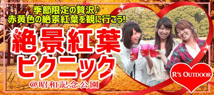 11/23エクストリームウォーク×出会い「色鮮やかな黄葉トンネルが絶景の昭和記念公園ピクニックコン」 in 東京
