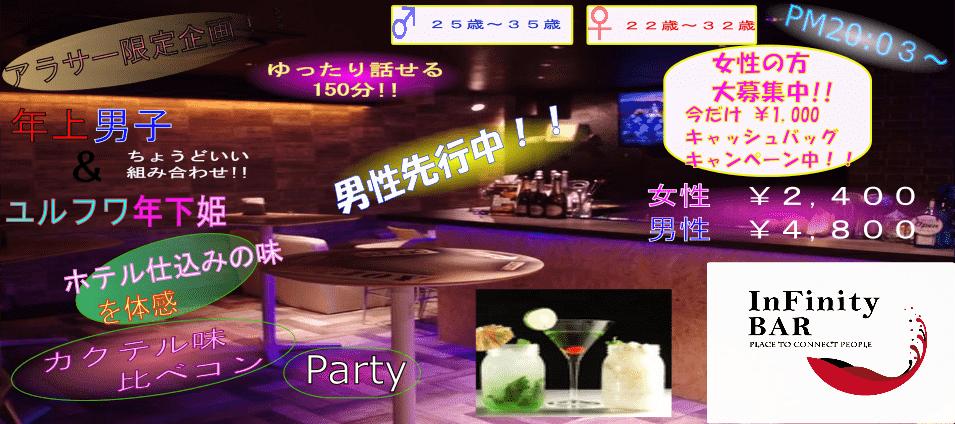 【心斎橋のプチ街コン】infinitybar主催 2018年1月19日