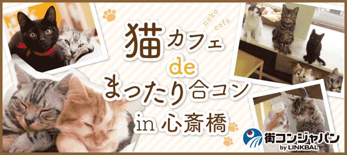 【男性あと1名で開催確定♪】猫カフェdeまったり合コンin心斎橋