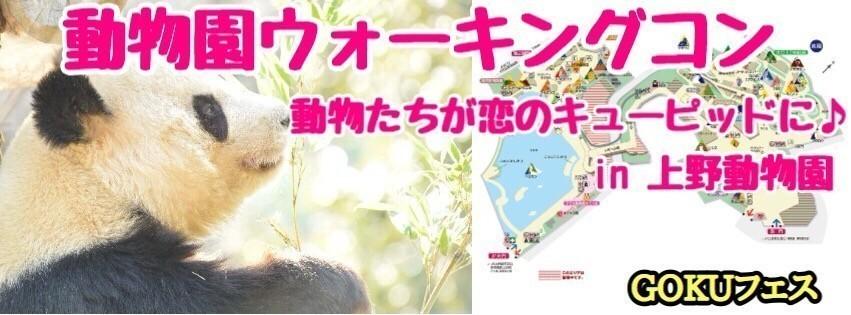 【東京】2/22(木)10:00~ 動物園ウォーキングコンin 上野動物園!!1人参加大歓迎☆★動物たちが恋のキューピッドに(^_-)-☆