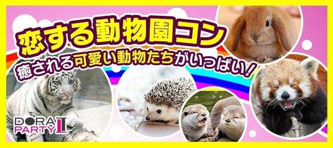 3/18(日)東武動物園☆23~33歳限定!可愛い生き物に囲まれながら出会える動物園デート×MISSIONコン