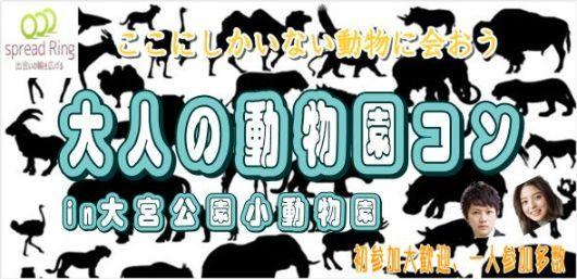 5/26(土)愛くるしい動物達に会いに行こう♪☆動物園ウォーキングコンIN大宮動物公園☆