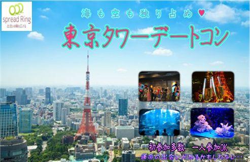7/1(日)東京の中心で空と海の景色を楽しむ♪☆東京タワーデートコン☆