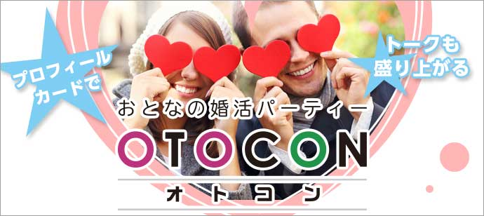 大人の個室お見合いパーティー 8/19 13時15分  in 上野