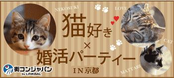 【猫好き限定☆料理付】婚活パーティーin京都