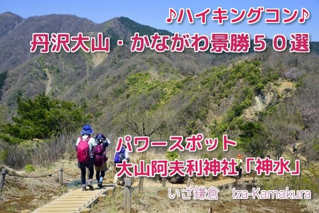 ♪山コン♪かながわ景勝50選・丹沢・大山ハイキングコースIn、大山1250m