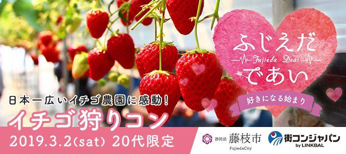 イチゴ狩りコン 2019.03.02(sat) 20代限定【ふじえだであい~好きになる始まり~】