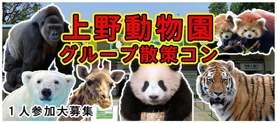 10/27(土)【上野】色んな動物に癒やされて仲良くなれる!上野動物園グループ散策コン【男性33歳〜49歳 女性28歳〜45歳】