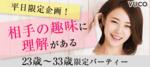 【東京都新宿の婚活パーティー・お見合いパーティー】Diverse(ユーコ)主催 2018年12月19日