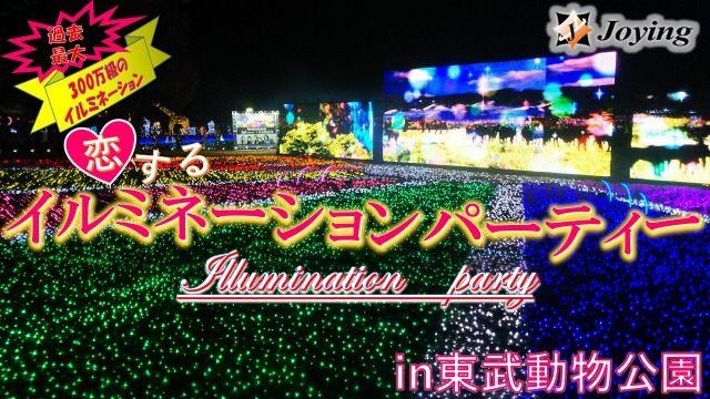【宮代町】「2018イルミネーションパーティー♡」in東武動物公園≪30代~40代編♪≫