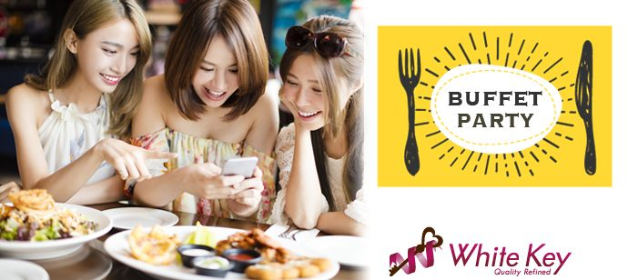 銀座<婚活>|豪華にオードブル、スイーツ、ワイン付きパーティー♪「Tokyo Bridal Festa☆30代から40代前半婚活」〜オープンスタイル/WhiteKey AI Matching/カップリ