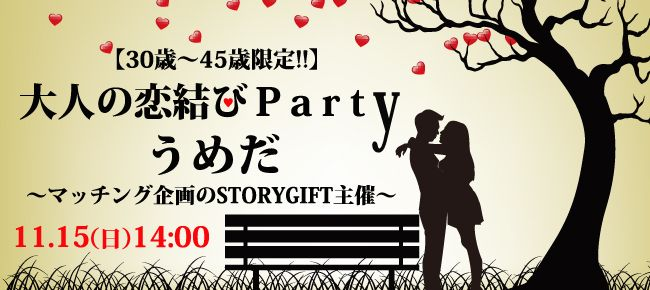 【大阪府その他の恋活パーティー】StoryGift主催 2015年11月15日