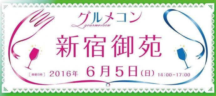 【新宿の街コン】グルメコン実行委員会主催 2016年6月5日
