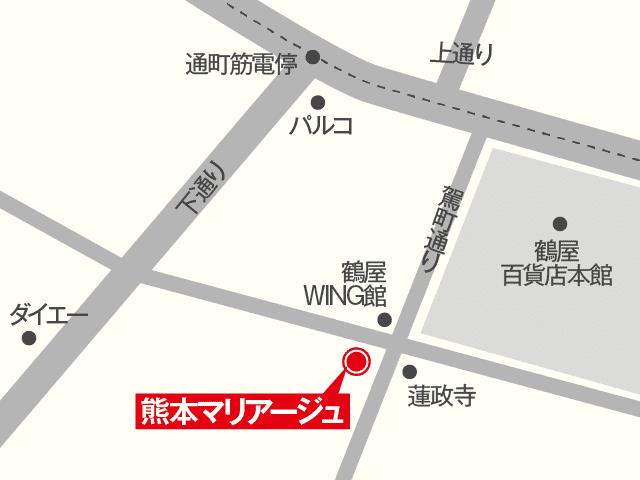 熊本マリアージュ地図
