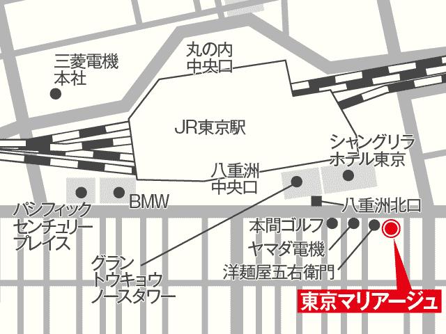東京マリアージュ地図