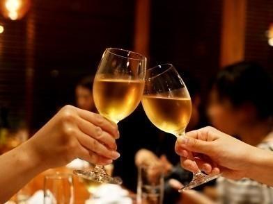 シャンパン 乾杯