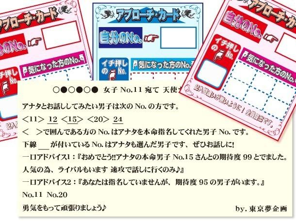PARTYの可能性を広げた、アプローチカード・天使カード画像