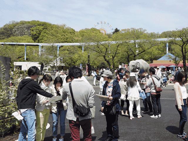 人気デートスポット東山動物園