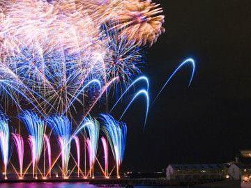 夏は花火と音楽のシンクロが美しい! | 八景島の夏花火