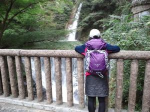 途中に布引の滝が見れます。
