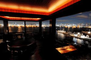 the bar ①