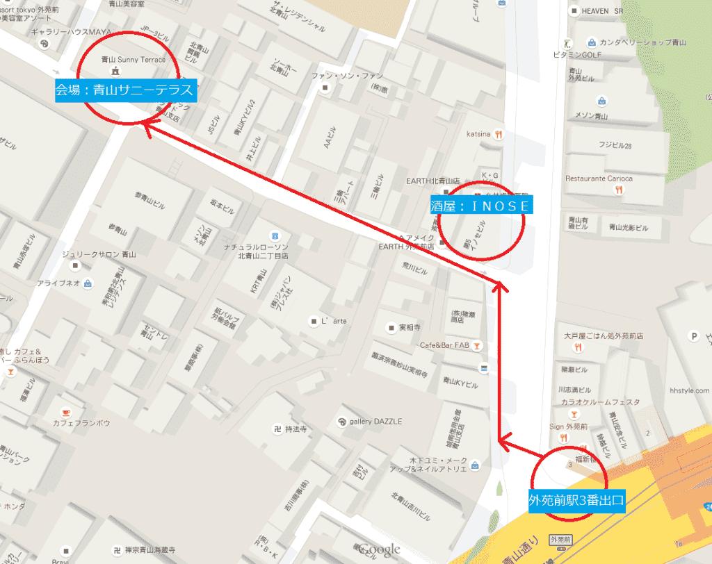 サニーテラス地図