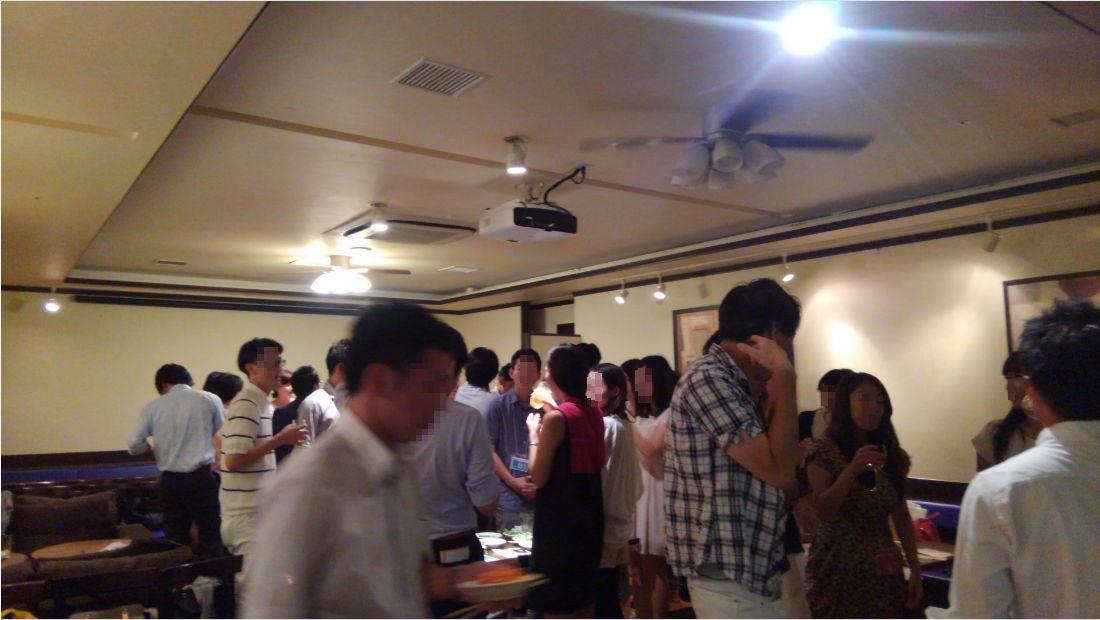開催風景青山パーティー3