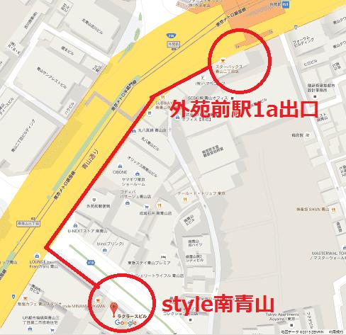 スタイル地図
