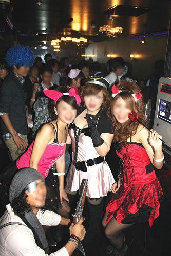 ハロウィンパーティー風景