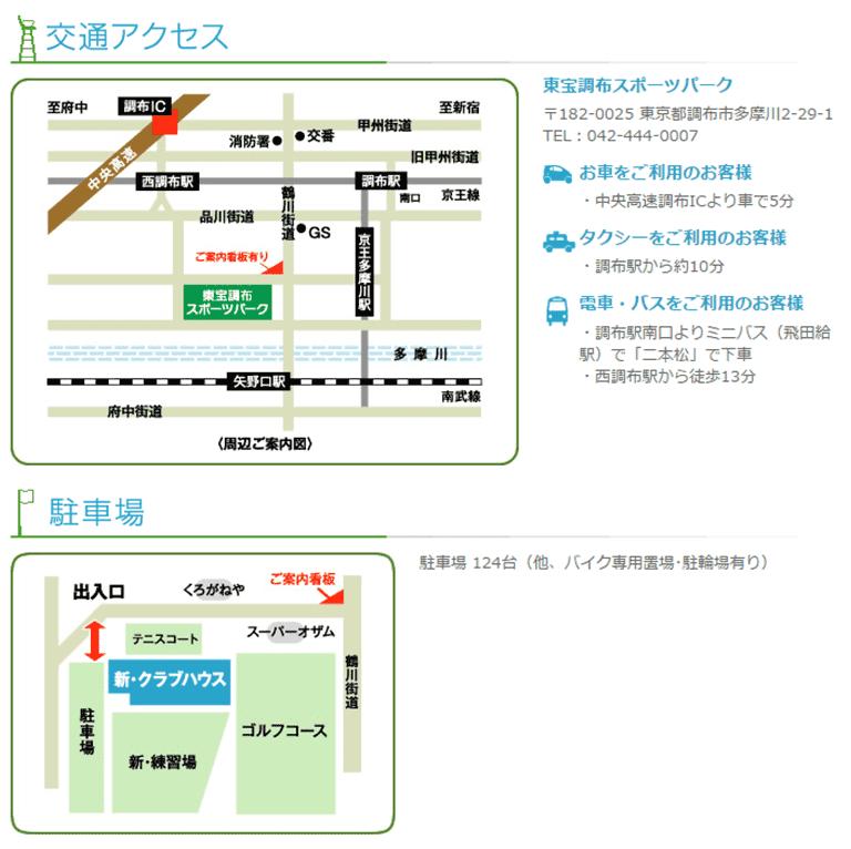 map 調布