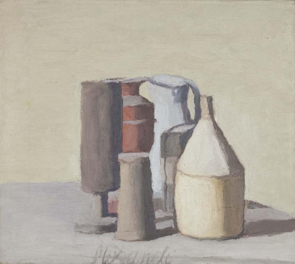 1 ≪静物≫1948年 モランディ美術館(ボローニャ)蔵