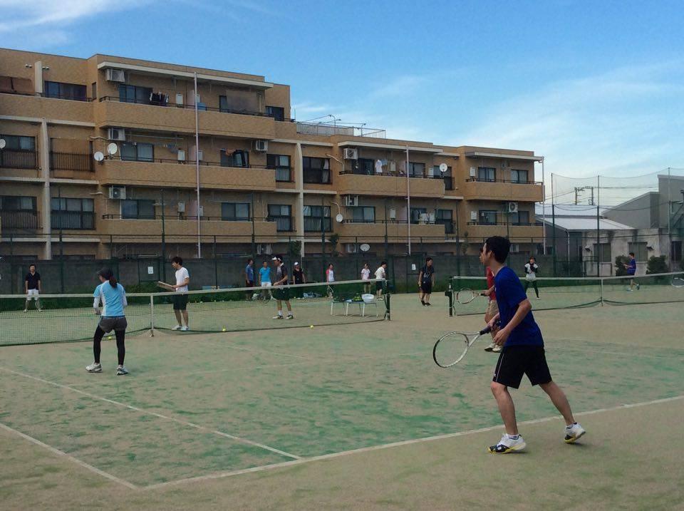 テニスイベント写真