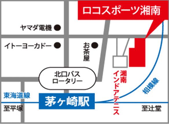 茅ヶ崎地図