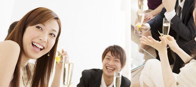婚活パーティー風景
