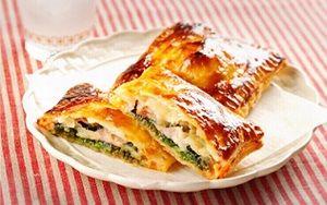 18日秋鮭とキノコのパイ包み画像