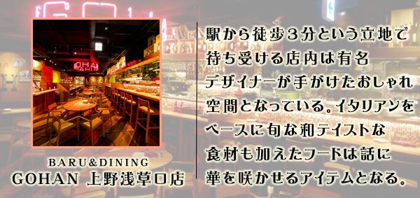 Gohan上野